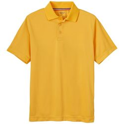 French Toast Big Boys Solid Performance Polo Shirt