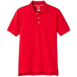 French Toast Little Boys Solid Pique Polo Shirt