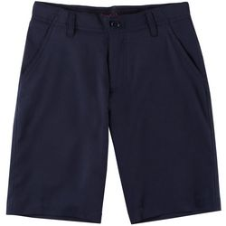 French Toast Big Boys Solid Flat Front Shorts