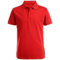 Nautica Big Boys Solid Performance Polo Shirt