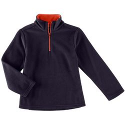French Toast Big Boys Solid Fleece Jacket