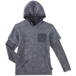 Ocean Current Big Boys Nova Long Sleeve Hooded T-Shirt