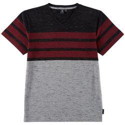 Ocean Current Big Boys Striped V-Neck T-Shirt