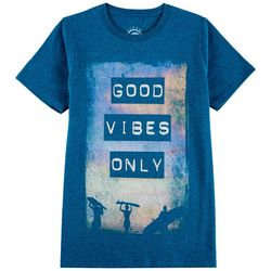 Ocean Current Big Boys Good Vibes Only T-Shirt