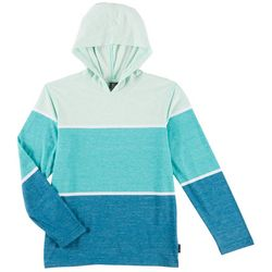 Ocean Current Big Boys Aiden Long Sleeve Hooded T-Shirt