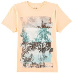 Ocean Current Big Boys Diced Palms T-Shirt