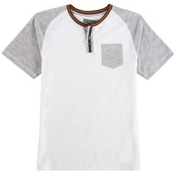 Distortion Big Boys Raglan Pocket T-Shirt