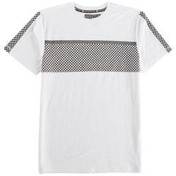Distortion Big Boys Checkered Stripe T-Shirt