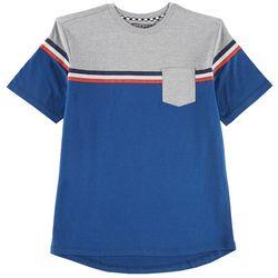 Distortion Big Boys Stripe Pocket T-Shirt