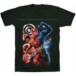 Marvel Avengers Little Boys Captain America Graphic T-Shirt