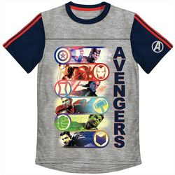 Marvel Avengers Little Boys Avengers Colorblock T-Shirt