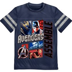 Marvel Avengers Little Boys Avengers Assemble T-Shirt