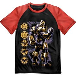 Marvel Avengers Little Boys Thanos Graphic T-Shirt