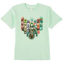 DC Comics Aquaman Big Boys Characters T-Shirt