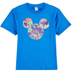 Disney Mickey Mouse Big Boys Tropical Mickey Mouse T-Shirt