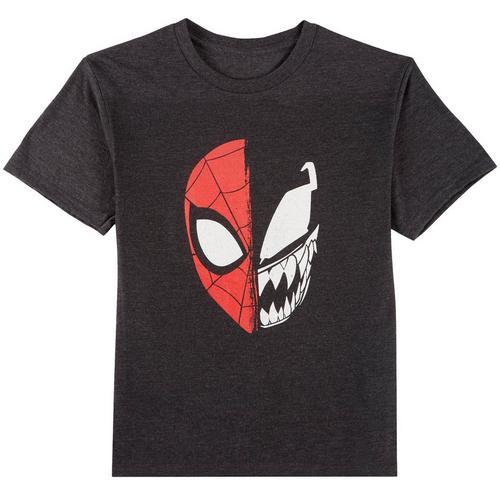 3a1394178175d7 Marvel Spider-Man Big Boys Spider-Man & Venom T-Shirt   Bealls Florida