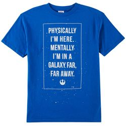 Star Wars Big Boys Galaxy Far Far Away T-Shirt