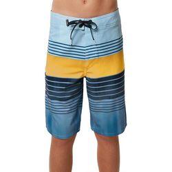 O'Neill Big Boys Hyperfreak Heist Stripe Boardshorts
