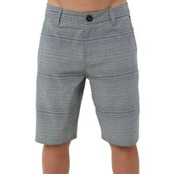 O'Neill Big Boys Locked Stripe Shorts