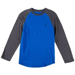 Nautica Big Boys Kano Raglan Long Sleeve T-Shirt
