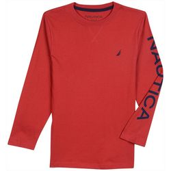 Nautica Big Boys Sydney Long Sleeve T-Shirt