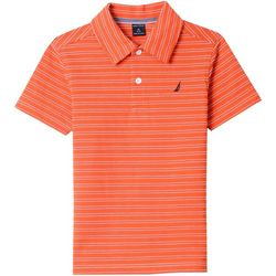 Nautica Big Boys Rodrick Stripe Polo Shirt
