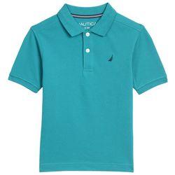 Nautica Big Boys Solid Deck Polo Shirt