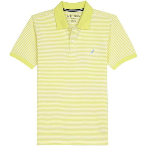 deaef343d Nautica Big Boys Striped Print Polo Shirt