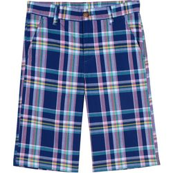 Nautica Big Boys Oahu Plaid Shorts