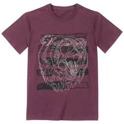 Lucky Brand Big Boys Wild Bear T-Shirt