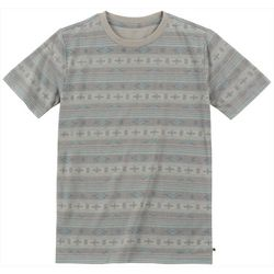 Lucky Brand Big Boys Striped Aztec Print T-Shirt