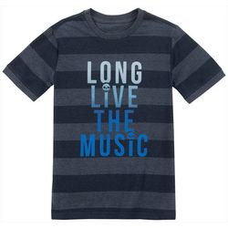 Lucky Brand Big Boys Long Live Music T-Shirt