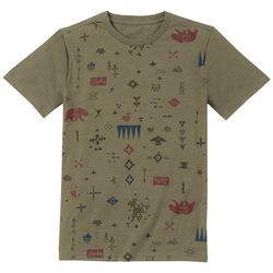 Lucky Brand Big Boys Tribal Icon Print T-Shirt