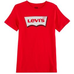 Levi's Big Boys Diamond Tread Logo T-Shirt