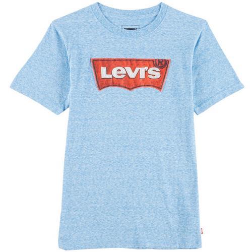 a99883d2dd Levi s Big Boys Heathered Logo T-Shirt