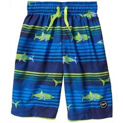 Speedo Big Boys Shark Volley Boardshorts