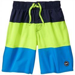 Speedo Big Boys Colorblock Volley Boardshorts