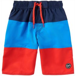 Speedo Big Boys Colorblock Volley Boardshorts