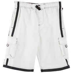 Nothing But Net Big Boys Contrast Trim Boardshorts