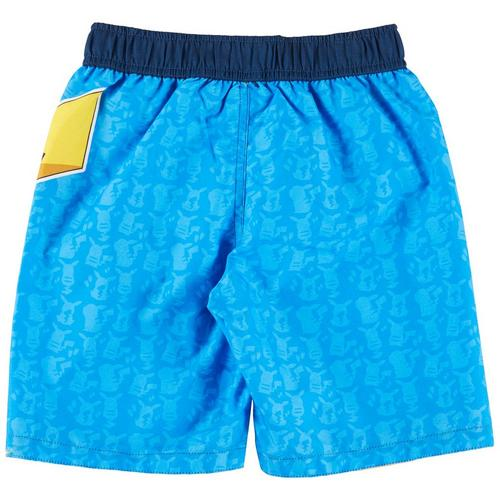 31715fc695525 Dreamwave Pokemon Little Boys Pikachu Swim Shorts Bealls Florida