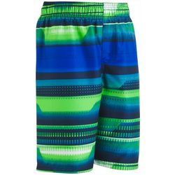 Under Armour Big Boys Striped Volley Swim Trunks