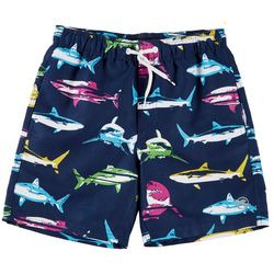 Ocean Current Big Boys Shark Volley Swim Shorts