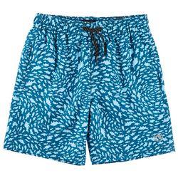 Ocean Current Big Boys Schooled Volley Swim Shorts