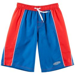 Surfer Zone Big Boys Colorblocked Swim Shorts