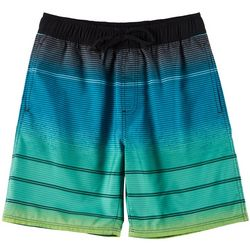 Burnside Big Boys Striped Boardshorts