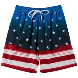 Burnside Big Boys Stars And Stripes Boardshorts