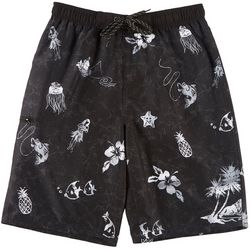 Burnside Big Boys Aloha Boardshorts