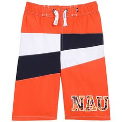 Nautica Big Boys Kahu Colorblock Swim Shorts