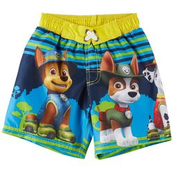 Nickelodeon Paw Patrol Little Boys Character Swim Shorts