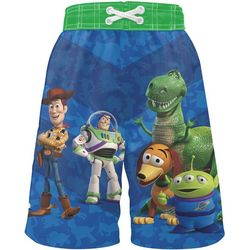 Disney Toy Story Little Boys Graphic Swim Shorts